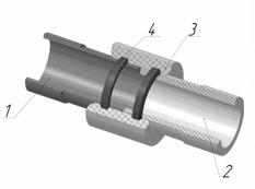 Как соединить две асбестоцементные трубы своими руками